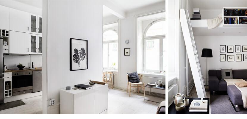 decorar un piso pequeño