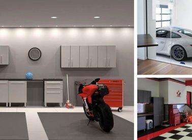 Garaje moderno: ¿Cómo conseguir transformar tu garaje?